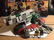 Lego Star Wars Slave I 8097 set 100% complete