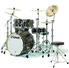 SONOR S Classix SC Stage 3 Ebony Set Schlagzeug + Hocker GRATIS!