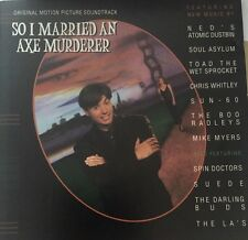 SO I MARRIED AN AXE MURDERER Various CD 12 Track Soundtrack Featuring Mike Myers