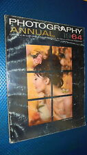 PHOTOGRAPHY ANNUAL 1964.INTERNATIONAL EDITION.POPULAR PHOTOGRAPH.IN INGLESE!!