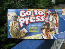 Go To Press Game~A Grammar Game~Learning Resources~New & Sealed