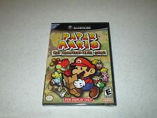 "Paper Mario The Thousand Year Door GameCube ""For Display Only"" RARE Sealed"