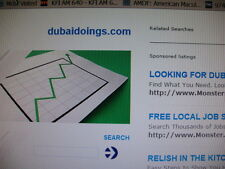 Domain for Sale: dubaidoings.com --  Nice name for a site about Dubai offerings