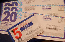 16 BED BATH AND BEYOND 20% off an item Coupons, 1 $5 off $15 *Exp 1/17-5/2017*