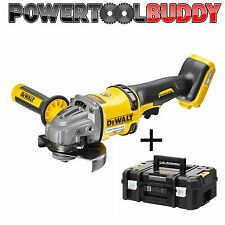 DeWalt DCG414N 54v XR FLEXVOLT 125mm Angle Grinder Bare Unit  + TSTAK Case