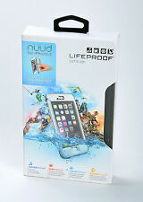 """LifeProof nuud Waterproof Dust Dirty Proof Hard Case fo 4.7"""" iPhone 6 ONLY WHITE"""