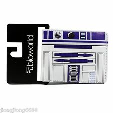 Hot  Star Wars R2 D2 Bifold Wallet Purse Leather New Gift