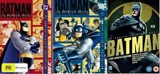 Batman The Animated Series Collection 1 + 2 + Boxset Mask of Phantasm New DVD R4