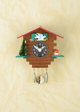 Reloj Péndulo Casa de madera Black Forest Selva negra cuco Made in Germany 32 P