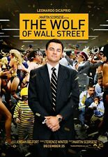 The Wolf Of Wall Street movie poster print - Leonardo Dicaprio poster