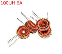10PCS 100uH 100UH 6A coil wire wrap toroid inductor choke