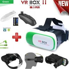 Google 2nd VR 3D Glasses with Bluetooth Remote+Headphone+2 AAA Batteries