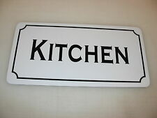 KITCHEN Metal Sign 4 Costume Cosplay Girls Clubware tv Movie Prop