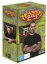 Monster Garage :Complete Series (DVD, 2012, 22-Disc Set) - New Sealed - Region 4