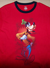 DISNEY STUDIO COLLECTION / GOOFY / VINTAGE RED T-SHIRT SIZE XL