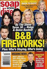 Bold and the Beautiful Turns 30/Tribute Issue - Mar. 27, 2017 Soap Opera Digest