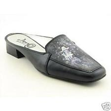 ICON Women's NIB Shoes Painted Leather Mules Slides  Midnite Cowgirl   9 M