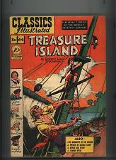 CLASSICS ILLUSTRATED #64 VG ORIGINAL TREASURE ISLAND