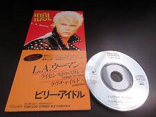 Billy Idol L.A. Woman Japan 3 inch Mini CD Single Generation X Punk The Doors LA
