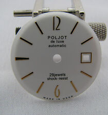 Zifferblatt Uhren USSR Poljot de luxe. 29 Jewels. automatic 2415. D - 29,20mm