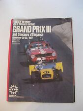 Program - Palm Spring Vintage Grand Prix III and Concours d'Elegance