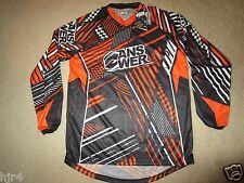 Answer Sport Racing BMX Bike Jersey M Medium Adult MD NEW