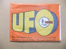 GERRY ANDERSON UFO MONTY GUM CARD WRAPPER ITC SHADO TV