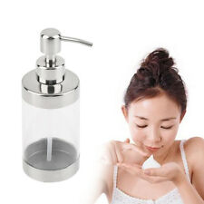 Stainless Steel Press Soap Dispenser Liquid Hand Washing Shampoo Pump KTV SY