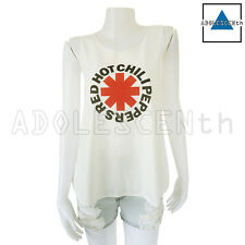 Red Hot Chili Peppers (RHCP) Rock Band Lady Women Singlet Tank Top T-Shirt S-M