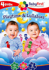 BABY FIRST TV-BABY FIRST: PLAYTIME & LULLABIES (4PC)  DVDB NEW