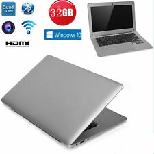 13.3 inch Windows 10 Quad Core 128GB Laptop Notebook Wi-Fi Bluetooth4.0 OTG HDMI