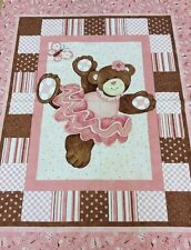 Springs Creative - Steele Creek Studio - Belinda Bear Panel 90cm - 100% Cotton