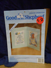 Good Shepherd Counted Cross Stitch Blessed Boy with Mat