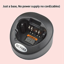 Only Base no power supply for Motorola MTX900 Portable Radio Battery Charge