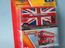 Matchbox 60th Anniversary Routemaster RM Bus Union Jack Livery London Toy Model