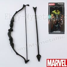 Super Hero Avengers Hawkeye Bow and Arrow Metal Toy Cosplay NIB Black #01