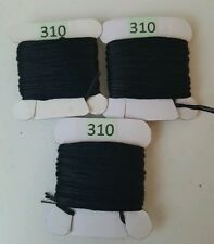 3 x 8 metres DMC Threads BLACK 310