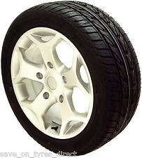 "18"" Silver Alloy Wheels Tyres Ford Transit ST 5x160 Van Load Rated 2554518"