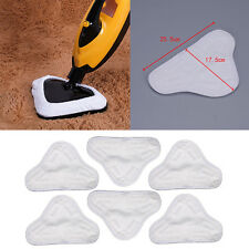 6 X Steam Mop Floor Washable Replacement Microfiber Pads for H2O H20 X5