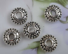 100PCS tibetan silver  spacer nice beads 8mm  SH285