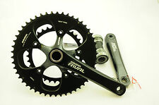 SRAM RIVAL 172.5mm CHAINWHEEL SET DOUBLE 50/34 TEETH 10 SPD 35% OFF RRP £199.99