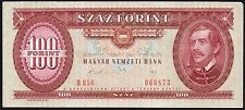 1989 HUNGARY 100 FORINT BANKNOTE * 060873 * VF+ * P-171 *