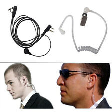 Earpiece headset Mic surveillance for Motorola Radio Two-Way Radio Walkie Talkie