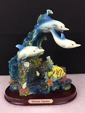Goldenvale Collections - Dolphins (shelf or mantel piece) Coral & Dolphin Decor
