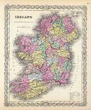 185 maps IRELAND history Celtic VILLAGES towns GENEALOGY old SETTLEMENTS DVD