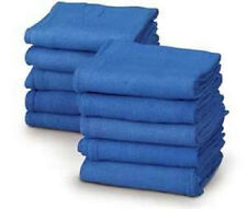 BLUE SURGICAL TOWELS, CLEANING JANITORIAL WINDOW RAGS WIPERS SHOP (25 TOWELS)