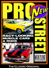Street Racing PRO STREET, Racy Muscle Cars, SUPER CHEVY SHOW DVD