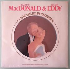 jeanette macdonald & nelson eddy A LEGENDARY PERFORMER  LP VINYL sealed