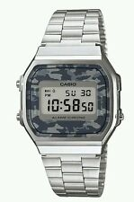 Casio Men's Vintage Camouflage Bracelet Watch. New In Box.