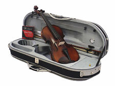 Best Value-4/4 Ebony Fitting with Antique Violin outfit-Bow-Case-Rosin-String